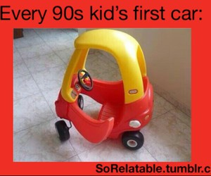 90s, 90s kids, and car image