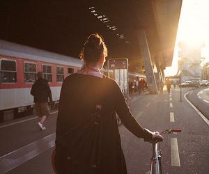 girl, photography, and sun image