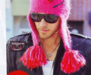 hat, jared leto, and pig image