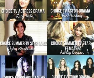 pll, teen choice awards, and lucy hale image