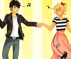 percy, percabeth, and love image