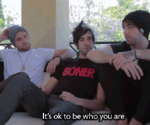all time low, band, and warped tour image