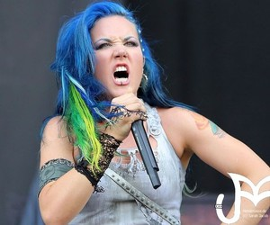 blue hair, vegan, and wacken image