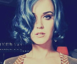 hair, perfect, and blue image