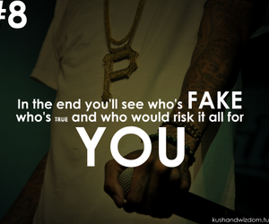 fake, true, and you image