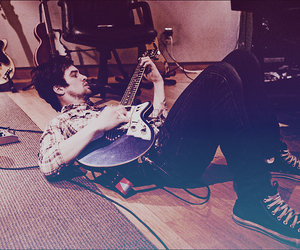brendon urie, cool, and guitar image