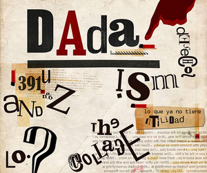art, Collage, and dada image