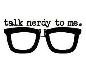 nerd, nerdy, and glasses image