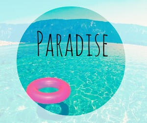 beauty, ocean, and paradise image