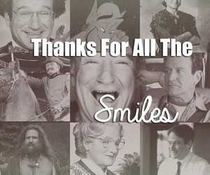 robin williams, rip, and smile image