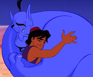 aladdin, genie, and disney image
