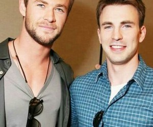 beautiful, boys, and chris evans image