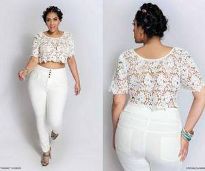 outfit, curvy, and fashion image