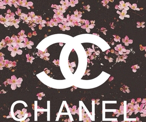 chanel, flowers, and wallpaper image