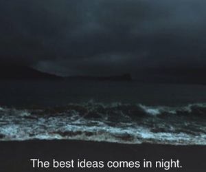 night and quote image