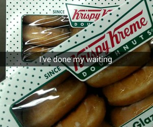 doughnuts, food, and glazed image