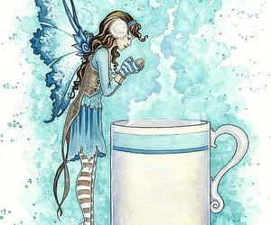 beautiful, blue, and fairy image