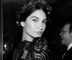 model, Lily Aldridge, and vs image