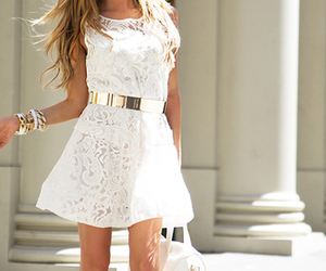 blonde, fashion, and outfits image