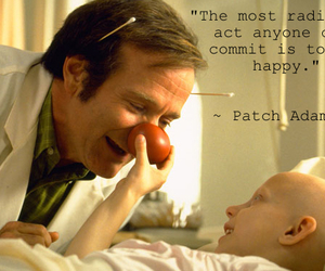 happy and patch adams image