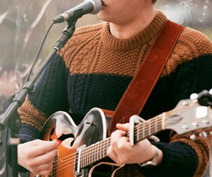 george ezra, guitar, and music image