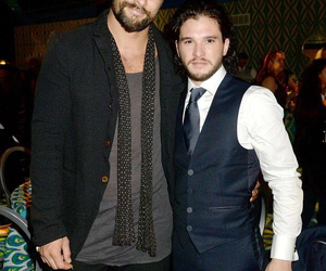 kit harington, game of thrones, and jon snow image