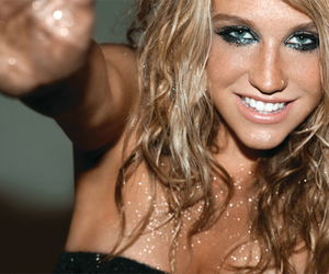 eyes, girl, and kesha image