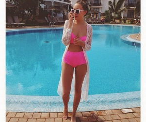 girl, summer, and fit image