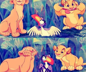 disney, simba, and le roi lion image