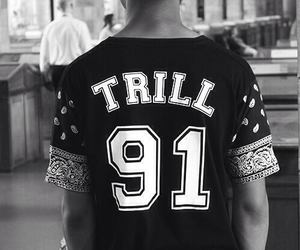 swag, black, and trill image