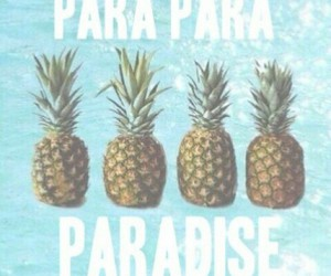 paradise, pineapple, and summer image