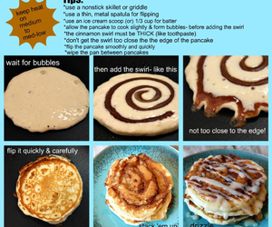 pancakes, food, and Cinnamon image