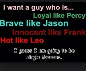 forever, single, and percy jackson image