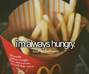 food, hungry, and always image