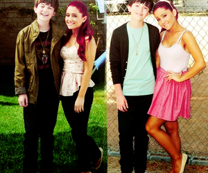 ariana grande, greyson chance, and unfriend you image