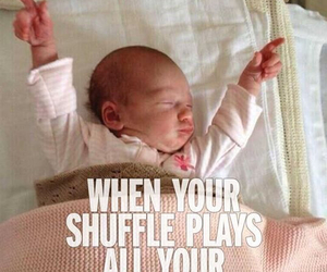 baby, music, and true image