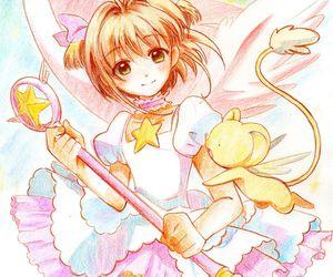 kero, draw, and sakura image