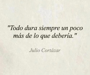 frases, julio cortazar, and quote image
