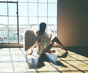 dance, ballet, and angel image
