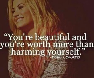 demi lovato, quote, and demi image