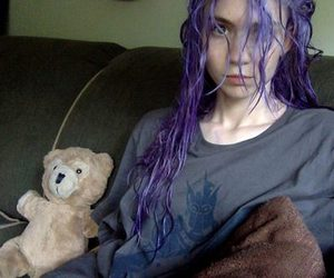 grimes, hair, and pale image