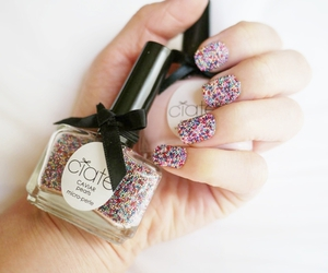 nails, ciaté, and girly image