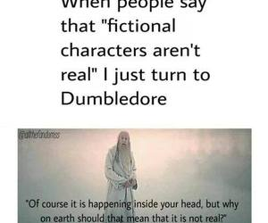 harry potter, dumbledore, and fictional characters image