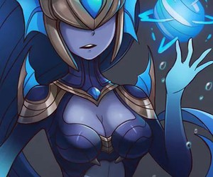 league of legends, syndra, and sd.latae image