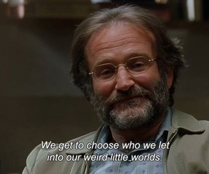 quotes, robin williams, and movie image