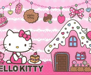 hello kitty, kitty, and sanrio image