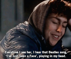 beatles, nat wolff, and stuck in love image
