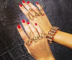 love, cool, and nails image