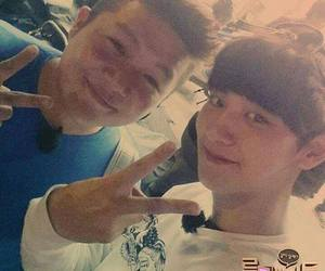 roommate, park chanyeol, and jo seho image
