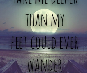 ocean, hillsong united, and Lyrics image